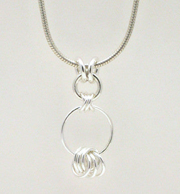 Criss-Cross Pendant