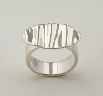 Custom: Tropical Style Ring, Sterling Silver