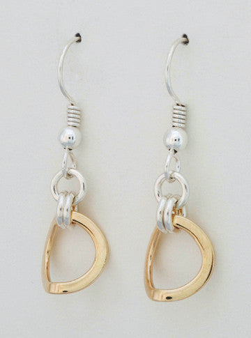 Celestial 2 Tone Earrings, Small