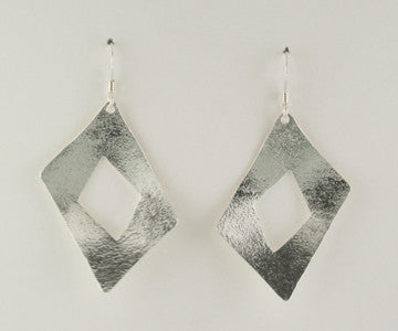 Diamond Shape Earrings, Short