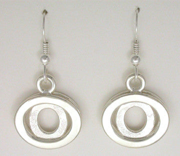 Elliptical Allure Earrings, Large