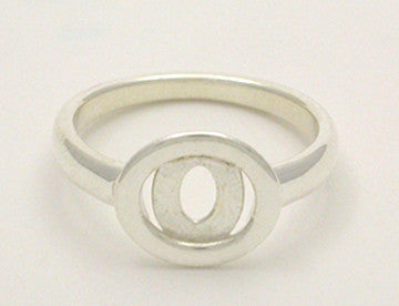 Elliptical Allure Ring