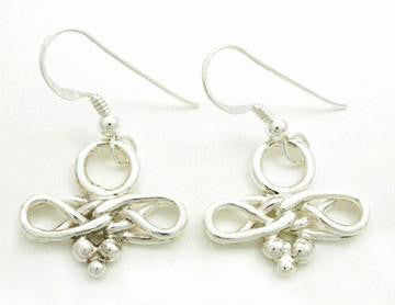 Eternal Love Celtic Knot Earrings