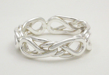 Eternal Love Celtic Knot Ring