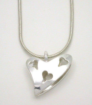 Heart Triple Pendant