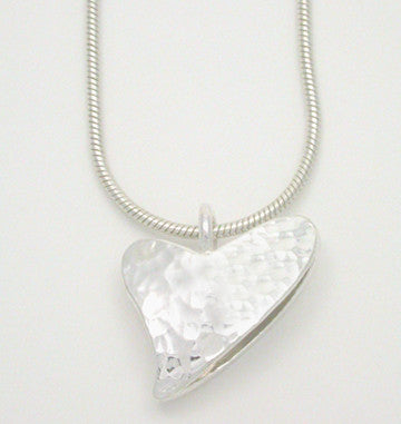Heart Faceted Pendant