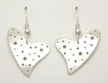 Heart - Swiss Hook Earrings