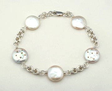 Heaven and Earth 2 Tone Bracelet