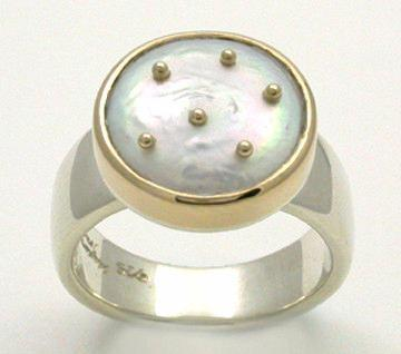 Heaven and Earth 2 Tone Ring