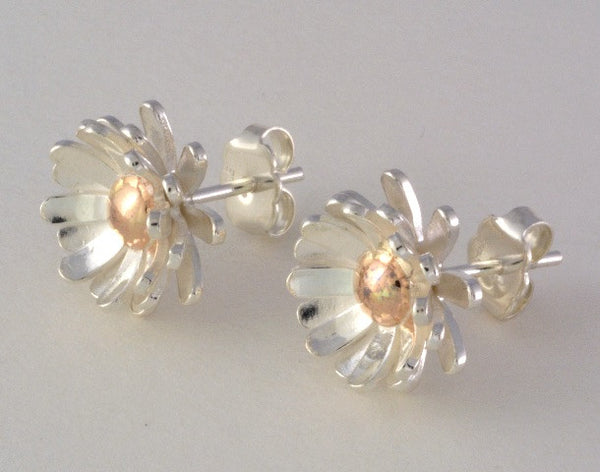 Lily 2 Tone Earrings