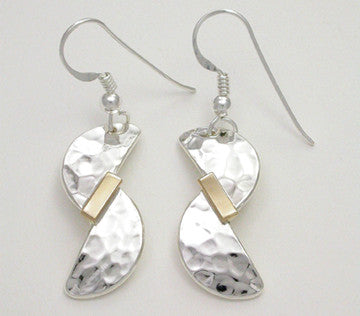 Inseparable 2 Tone Earrings