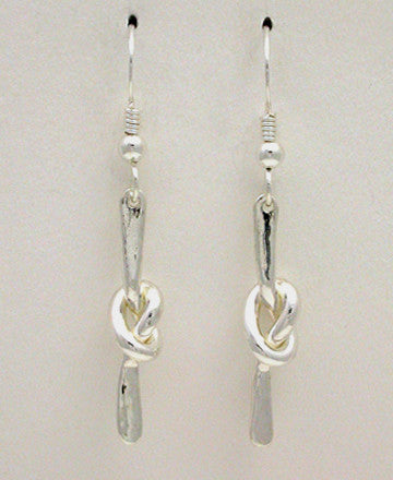 Knot Series: Overhand Knot Earrings