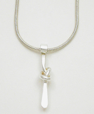 Knot Series: Overhand Knot Pendant