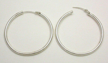 Hoop Earrings, Large