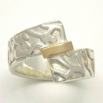 Offset Fusion 2 Tone Ring, Wide