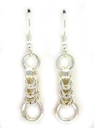 Parallel Link Earrings