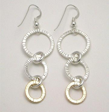 Radiance 2 Tone Earrings