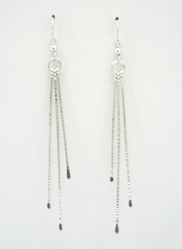 Rays Long Bars Earrings