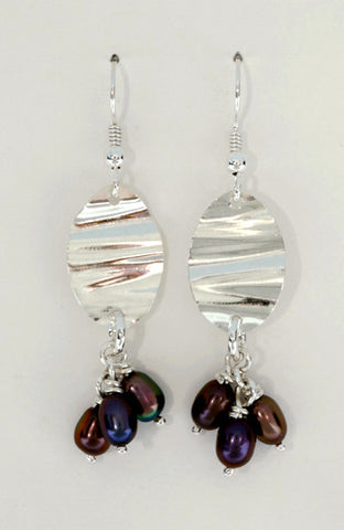 Series 94 Earrings with Pearls