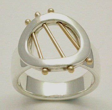 Starlight 2 Tone Ring, Large