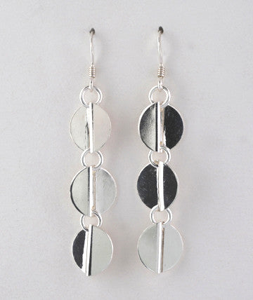 Triple Wave Earrings