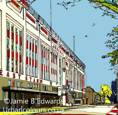 Arsenal - Highbury, East Stand.