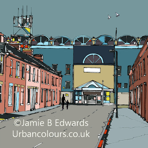 Manchester City - Maine Road Print
