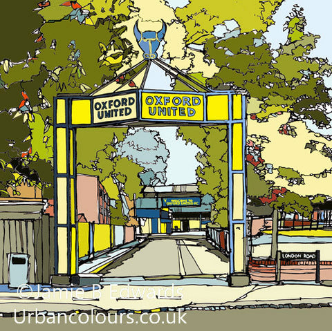 Oxford United - Manor Ground