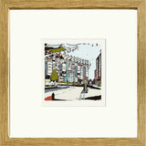 Newcastle United's St James Park Print Framed in Oak image of