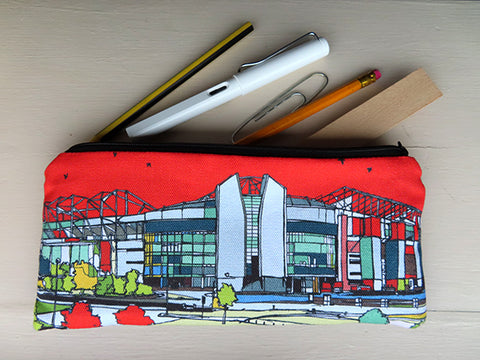 Manchester United Pencil Case