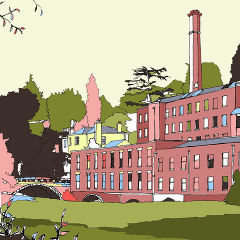 Quarry Bank Mill, Cheshire