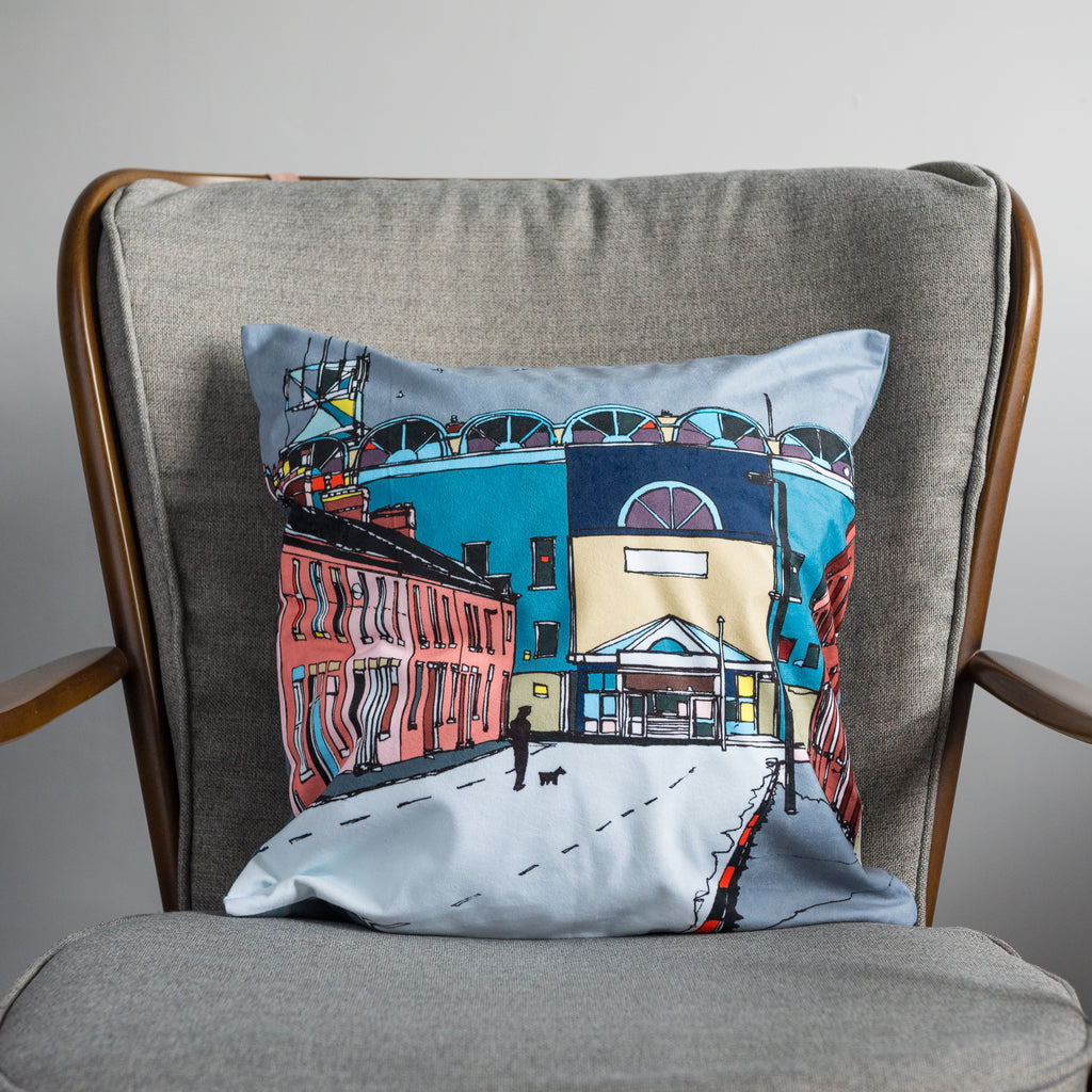 Manchester City - Maine Road Cushion