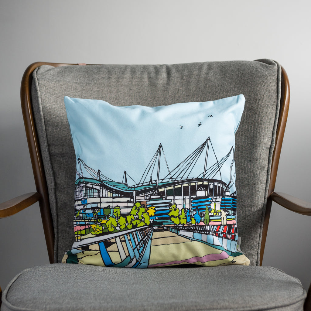 Manchester City - Ethiad Stadium Cushion