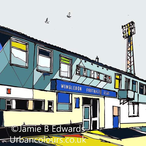 Jamie B Edwards Plough Lane AFC Wimbledon