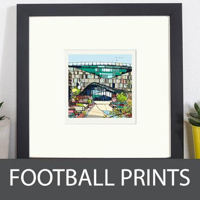 jamie B Edwards football ground prints