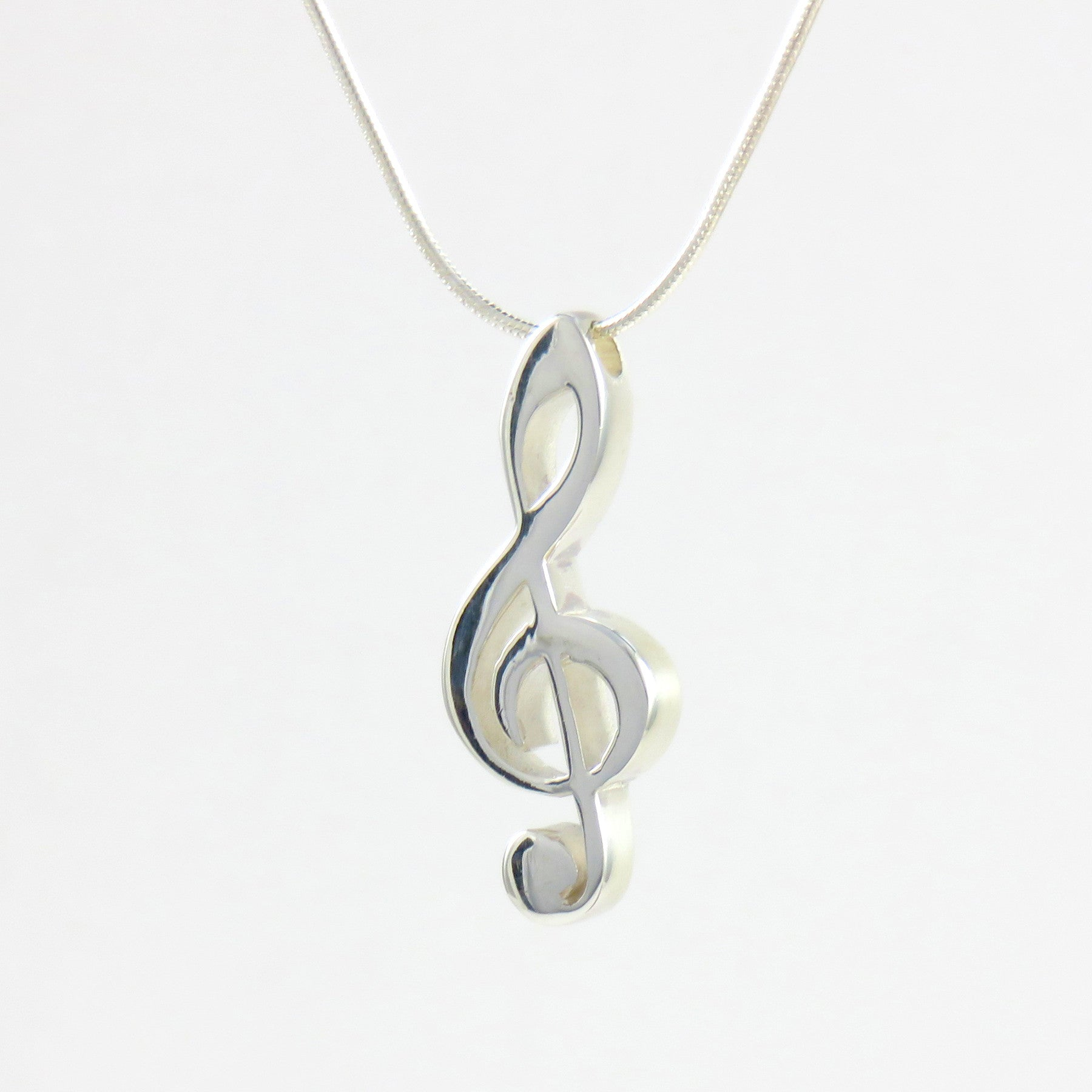 pendant fine handmade sterling with pin sheet music necklace silver musical notes