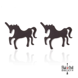 Small Unicorn Stud Earrings