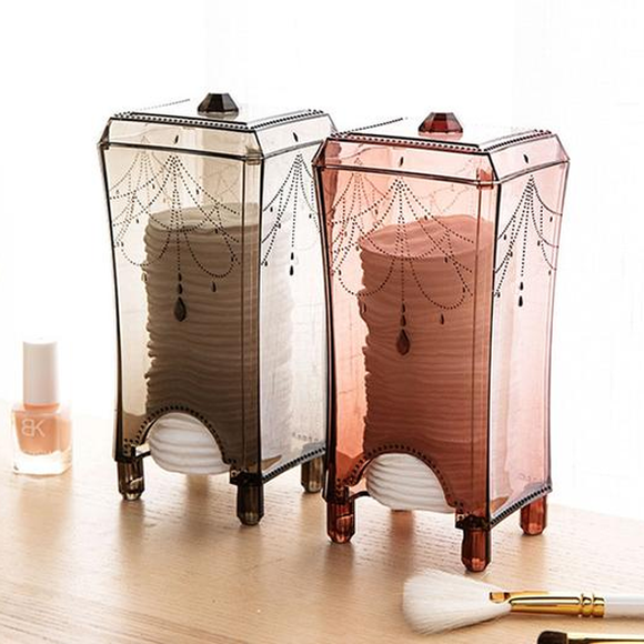 Decorative Makeup Tools Organizer