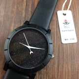 Time and Space Analog Wrist Watch