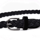 Long and Lovely Braided Rope Belt, 41""