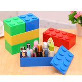 Building Block Space-Saving Organizer for Makeup, Jewelry, Office Supplies