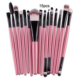 Nylon Mermaid Makeup Brush Sets of 7, 10 and 15
