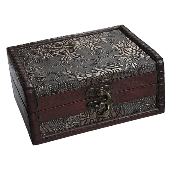 Antique-Inspired Treasure Chest Storage/Collection Box