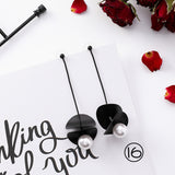 Babe in Black Fashion Earrings, 25 Super Flirty Choices