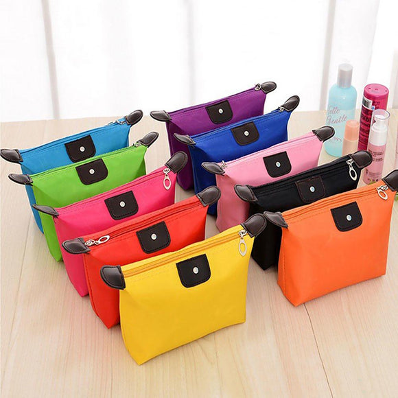 ColorFull Cosmetics Makeup Bag, Waterproof & Collapsible
