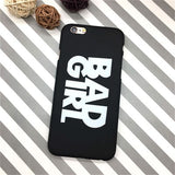 BAD GIRL/GOOD GIRL iPhone Case for Apple iPhone 5, 5S, 5SE, 6, 6S, 7 Plus, 8, 8 Plus, X