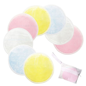 Reusable Double Layer Cotton Pads for Makeup Removal /Cleansing - 8, 16 or 20 Count w/ Laundry Bag