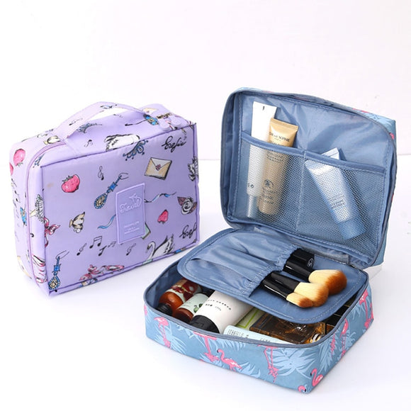 Multi-functional Waterproof Travel Cosmetic Bag Toiletries Organizing Case