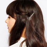 Decorative Vintage Inspired Scissors Hair Clip Accessory