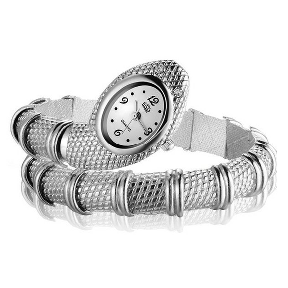 Snake Wrap Wrist Watch